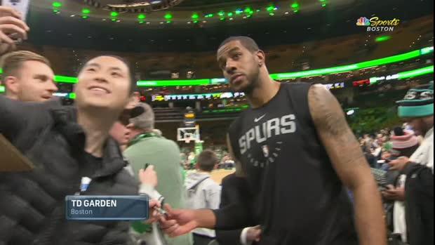 GAME RECAP: Spurs 115, Celtics 96