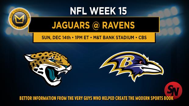 Jacksonville Jaguars @ Baltimore Ravens