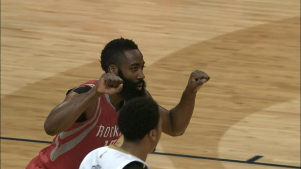 Houston assomme les Pelicans