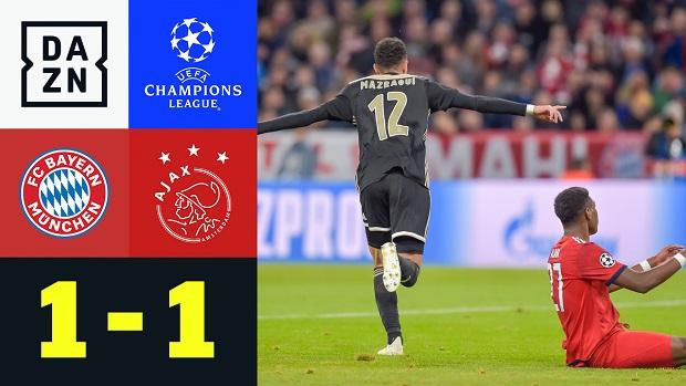 UEFA Champions League: Bayern München - Ajax Amsterdam | DAZN Highlights