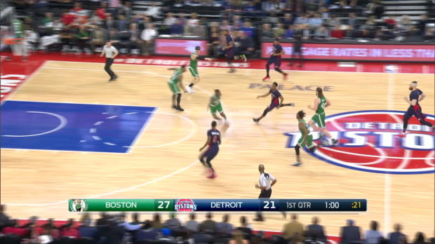 GAME RECAP: Celtics 104, Pistons 98