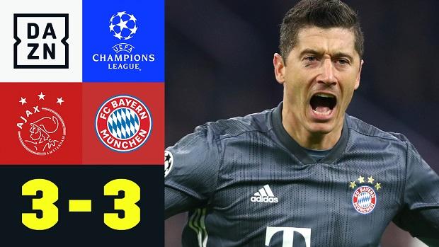 UEFA Champions League: Ajax - FC Bayern München | DAZN Highlights