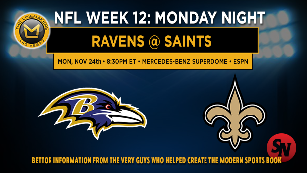 Baltimore Ravens @ New Orleans Saints
