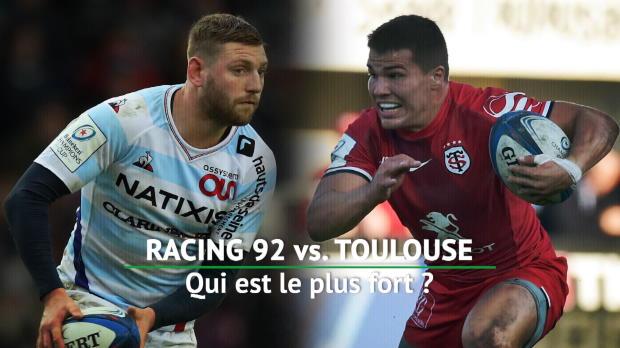 Quarts - Racing 92 vs. Toulouse, qui est le plus fort ?