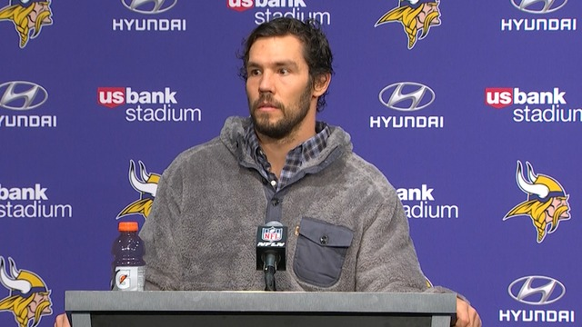 Vikings postgame press conference