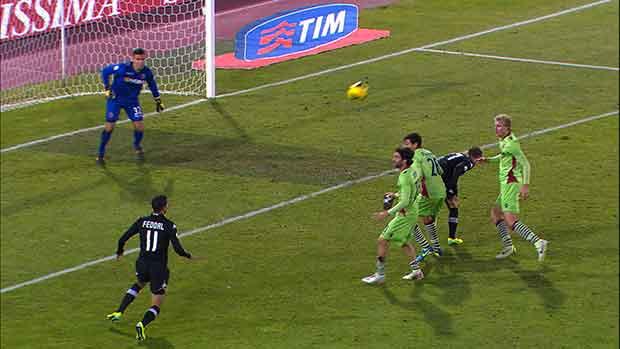 Bologna 1-2 Siena, Quarto Turno TIM Cup 2013/14