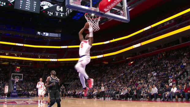 Dunk of the Night: Dennis Smith Jr.