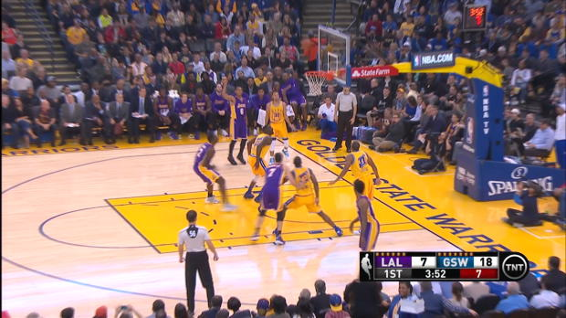 Move of the Night: Stephen Curry
