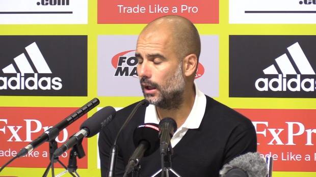 """Guardiola: """"Klub und Spielern gebührt Respekt"""""""
