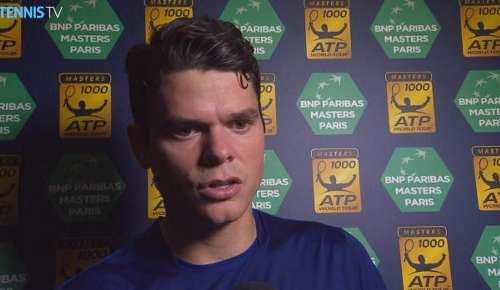 Raonic Interview: ATP Paris QF