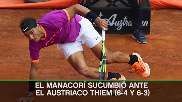 ATP Roma - Thiem se venga y frena la racha de Nadal