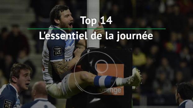 Top 14 - 14e j. : L'essentiel de la journée
