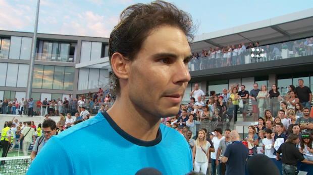 """Nadal: """"El nivel de Moy� y McEnroe es fant�stico"""""""