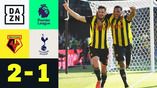 Premier League: Watford - Tottenham | DAZN Highlights