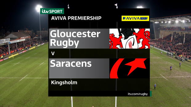 Aviva Premiership - Match Highlights - Gloucester Rugby v Saracens