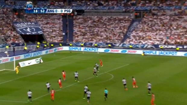 كرة قدم: كأس فرنسا: سان جيرمان يتوّج باللقب بشكل دراماتيكي أمام أنجيه