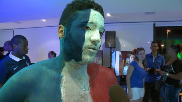 Bleus - Les supporters tr�s optimistes