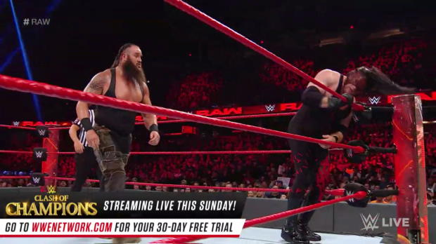 Braun Strowman vs. Kane - Winner Challenges Brock Lesnar for the Universal Championship at Royal Rumble: Raw, Dec. 11, 2017