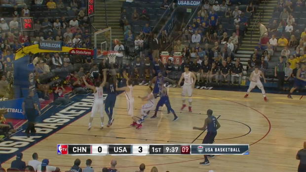 WSC: Kevin Durants highlights in Oakland debut