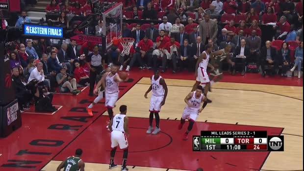 WSC: Giannis Antetokounmpo with 25 Points vs. Toronto Raptors