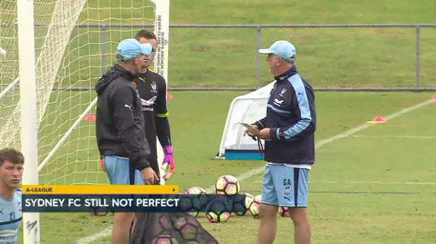 Arnie searching for Sky Blues improvement