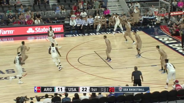 WSC: Highlights: Paul George (18 points) vs. Argentina, 7/22/2016
