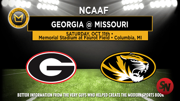 Georgia Bulldogs @ Missouri Tigers1
