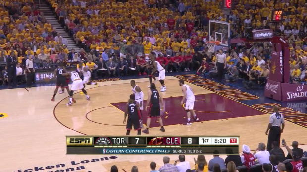 WSC: Kevin Love goes for 25 points in win over the Raptors