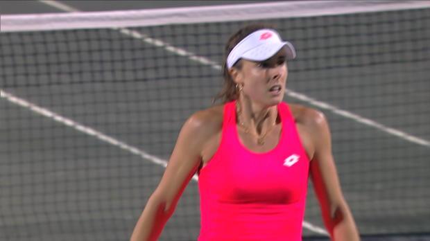 Tennis : Charleston - Bertens était trop forte pour Cornet