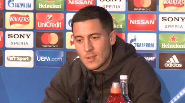 """Hazard: """"Bin glücklich beim FC Chelsea"""""""
