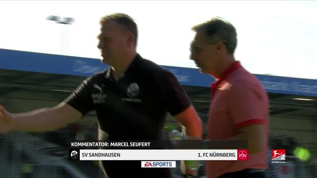 2. Bundesliga: SV Sandhausen - 1.FC Nürnberg   DAZN Highlights