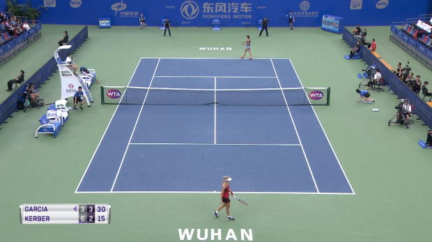 Basket : Wuhan - Garcia s'offre Kerber en entrée