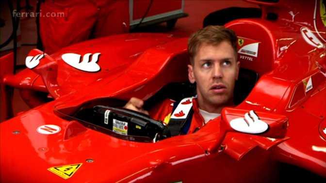 F1 - Vettel débute avec Ferrari