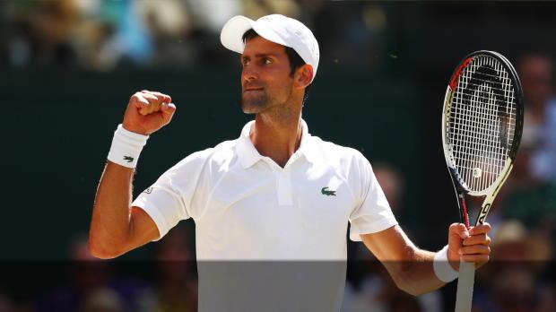 Wimbledon: Djokovic übertrumpft Ex-Coach Becker