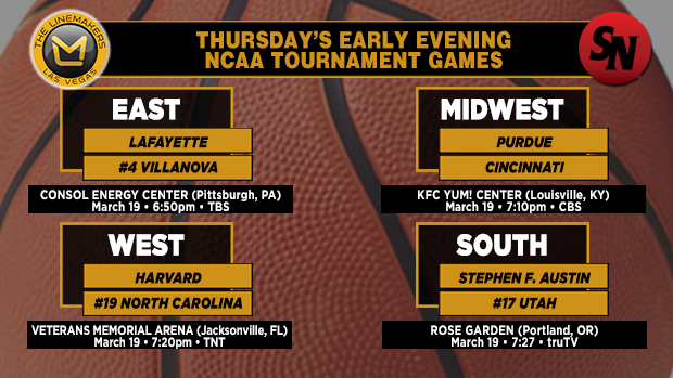 Thursday Early Evening Games