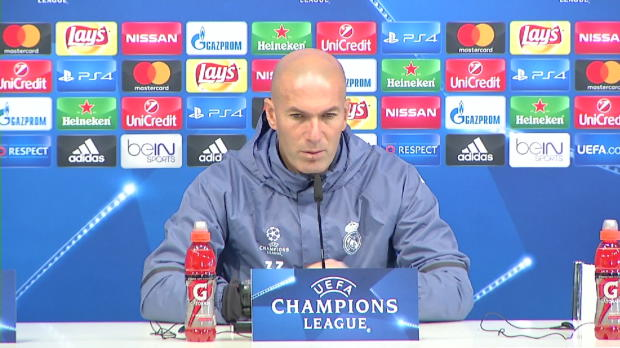 """Zidane: Dortmund-Spiel """"wie ein Finale"""""""