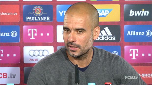 """Guardiola: """"Will nächstes Jahr hier bleiben"""""""