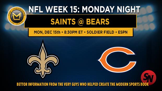 New Orleans Saints @ Chicago Bears