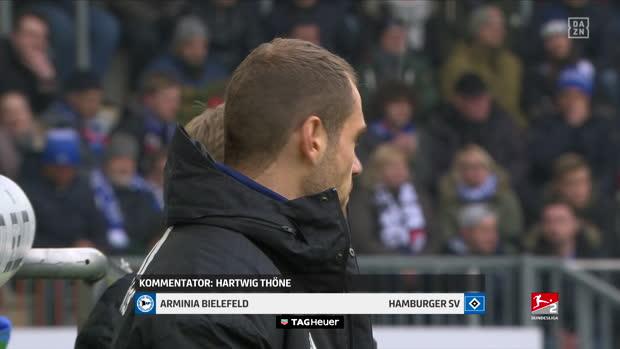 2. Bundesliga: Arminia Bielefeld - Hamburger SV | DAZN Highlights