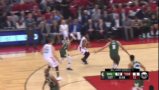 WSC: Kyle Lowry with 25 Points vs. Milwaukee Bucks