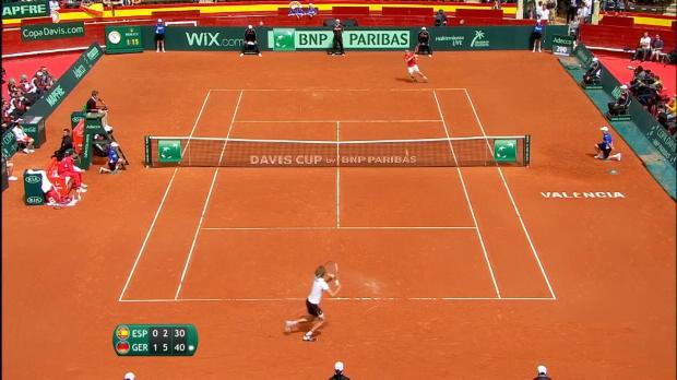 : Coupe Davis - Zverev avait bien lancé l'Allemagne