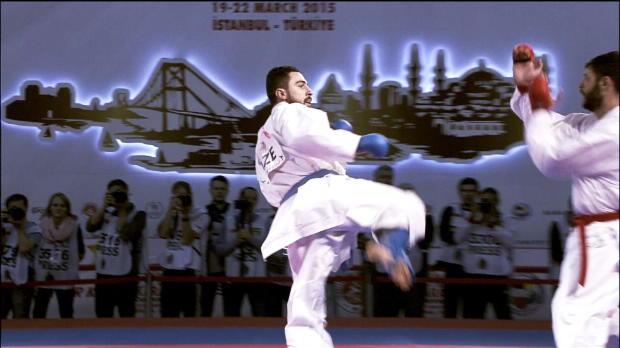 Fünf deutsche Karatekas in Baku dabei