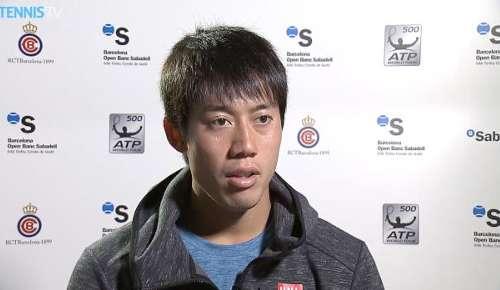 Nishikori Interview: ATP Barcelona SF