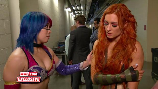 Mandy Rose & Sonya Deville mock Becky Lynch: WWE.com Exclusive, April 24, 2018