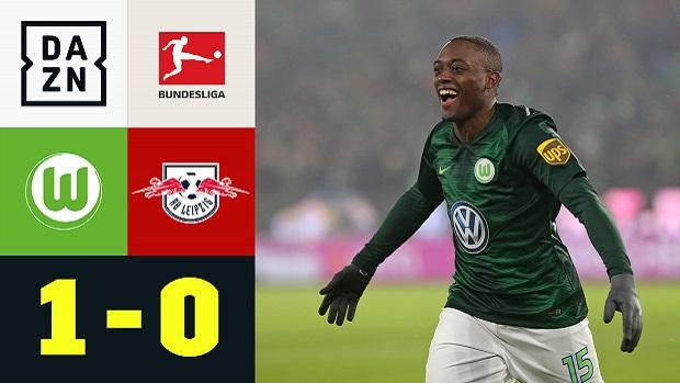 Bundesliga: VfL Wolfsburg - RB Leipzig | DAZN Highlights