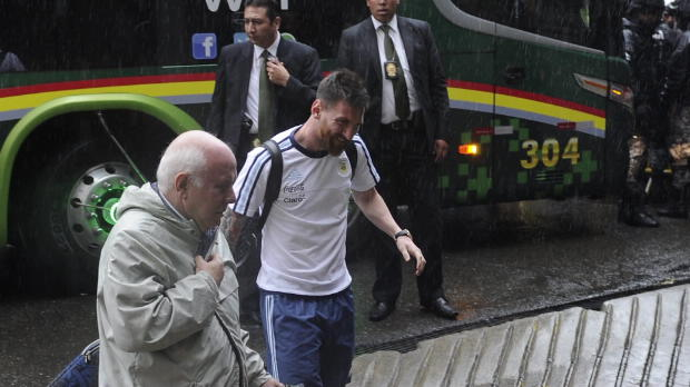 WM-Quali: Bauza hadert mit Messi-Sperre
