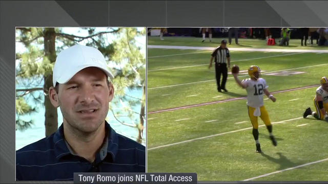 Tony Romo on Aaron Rodgers' injury: I don't think it will change the way he plays