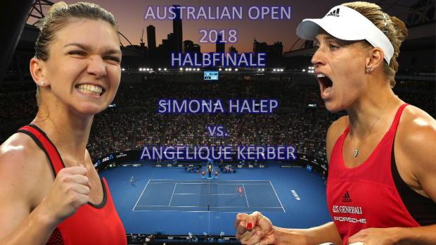 Australian Open: Ein enges Duell: Halep - Kerber