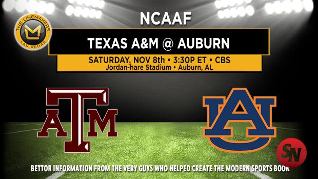Texas A&M Aggies @ Auburn Tigers