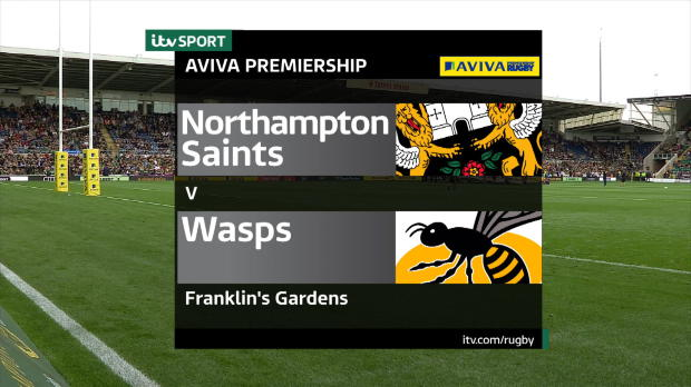 Aviva Premiership - Match Highlights - Northampton Saints v Wasps